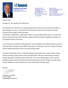 Support letter from Paul Ainslie